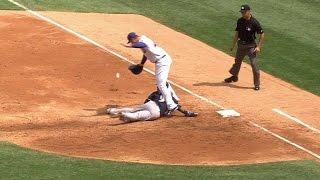 MIL@CHC: Segura advances on Lester's errant throw