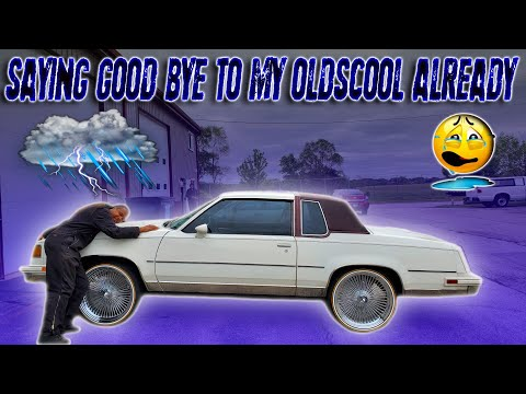 SAYING GOODBYE TO MY 86 CUTLASS ALREADY AND HERES Y