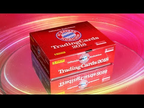 FC Bayern München Display auspacken | Trading Card Game 2018