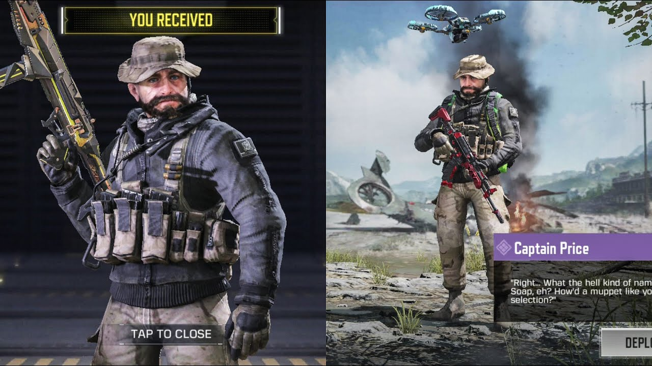 Get Free Captain Price Task Force 141 Warzone Event Call Of Duty Mobile Youtube