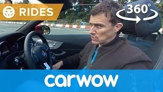 Mercedes C-Class Cabriolet 2017 360 degree test drive | Passenger Rides