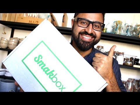 Unboxing Smakbox - Med nya smaker från Santa Maria, Sprite och Abba