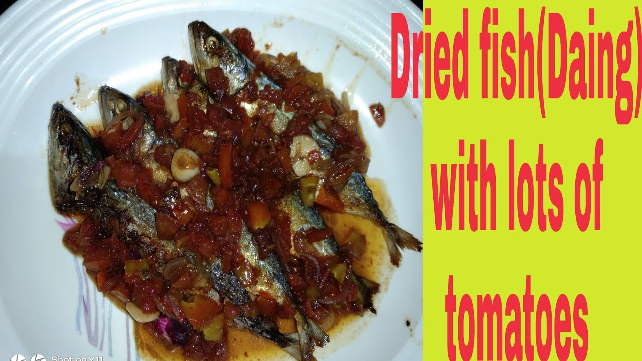 HOW TO COOK DRIED FISH(DAING) WITH LOTS OF TOMATOES ll LUTONG BAHAY ll FEL LEMON