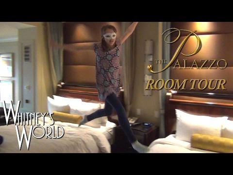 Las Vegas Hotel Room Tour | Whitney Bjerken at The Palazzo