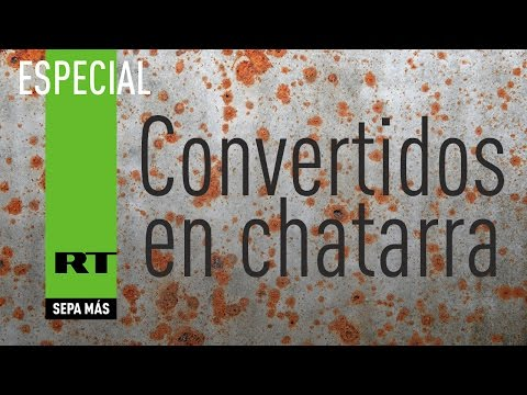 Convertidos en chatarra - Documental