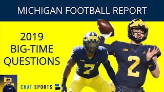 Michigan Football Fan Questions: Jim Harbaugh's Future, 2019 Position Battles, Ben Mason's Role