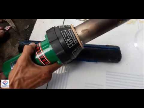 Cách sử dụng máy hàn nhựa cầm tay