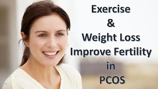 Exercise & Weight Loss Improve Fertility in Women with PCOS