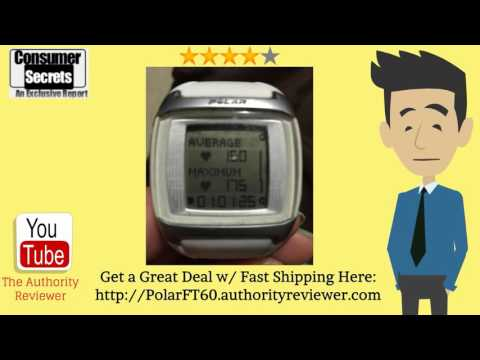 [Review & SALE] Polar FT60 Heart Rate Monitor