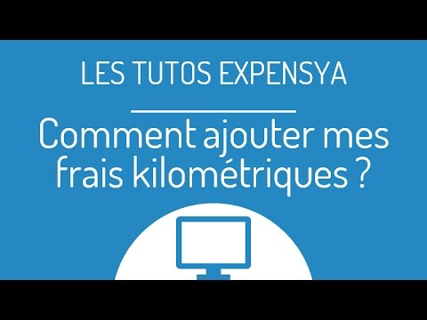 tuto comment ajouter mes frais kilom triques sur expensya youtube. Black Bedroom Furniture Sets. Home Design Ideas