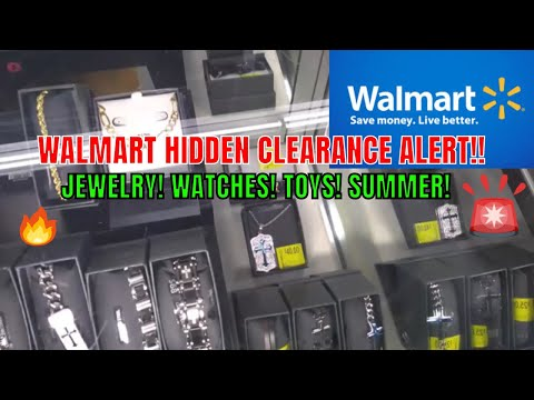 WALMART HIDDEN CLEARANCE FINDS - JEWELRY/WATCHES/TOYS/SUMMER 9/26/19