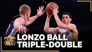 Lonzo Ball Joins Magic Johnson As Only Lakers Rookies With Multiple Triple Doubles