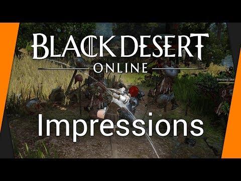 Black Desert Online - Impressions Review (PC / NA - EU)