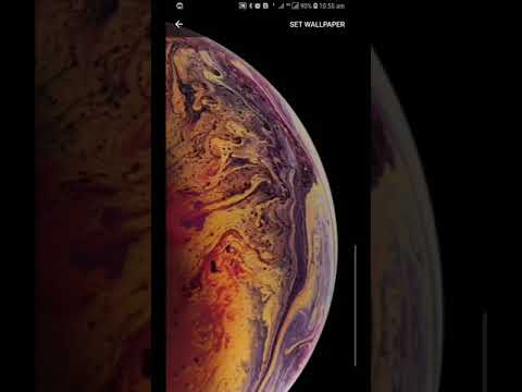 Iphone Xs Max Live Wallpaper Video Youtube