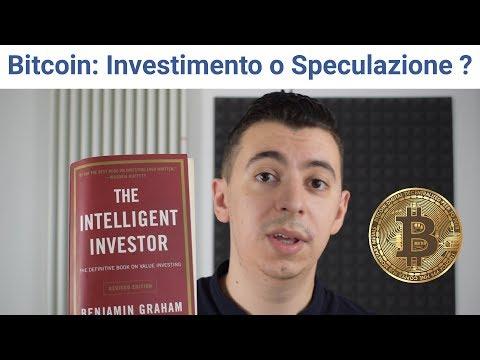 Bitcoin: investimento o speculazione? (differenza)