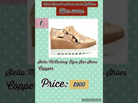 The Most Expensive Shoes Worn By Annie LeBlanc   Zona s Creation s ... 864107a07