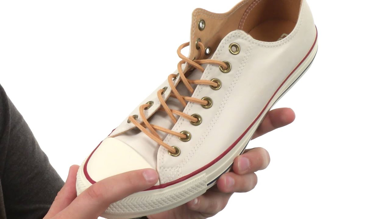 fded6a435677c9 Converse Chuck Taylor® All Star® Peached Canvas Ox SKU 8643013 - YouTube