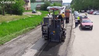 Дорогу по улице Сабурова в Верхней Салде заасфальтируют до 8 июля