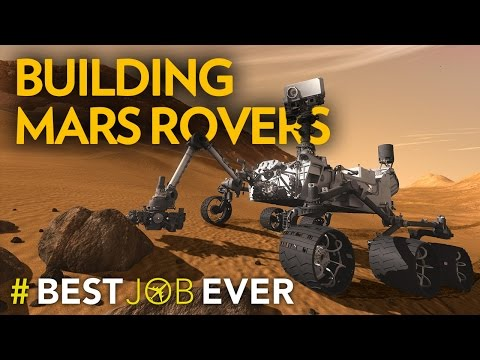 He Builds Space Robots For A Living – Best Job Ever