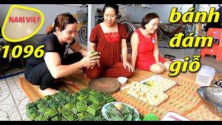 Làm bánh ít hộp vuông - Chuẩn bị đám giỗ - Nam Việt 1096