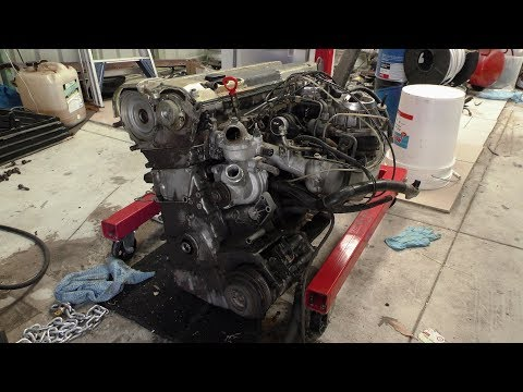 Mercedes M104.980, I Remove The Complete Intake Manifold