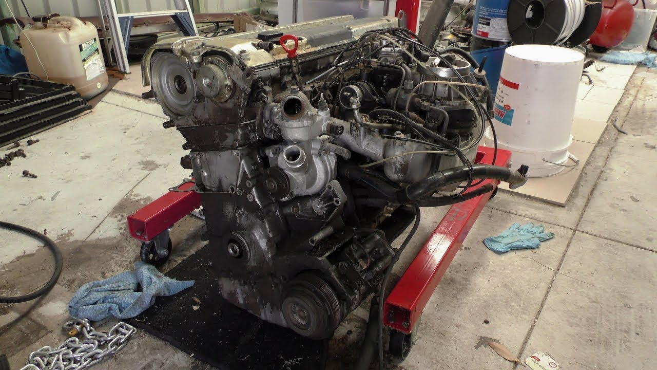 Mercedes M104 980, I Remove The Complete Intake Manifold