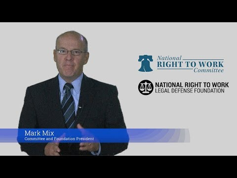 National Right To Work President's Labor Day 2017 Statement