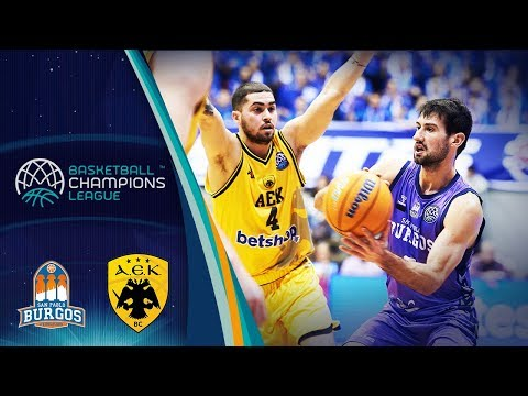 San Pablo Burgos v AEK - Highlights - Basketball Champions League 2019-20