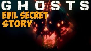EXTINCTION NIGHTFALL Storyline! EVIL SECRETS! Alien Outbreak - Cutscene (COD Ghosts All Hidden Intel