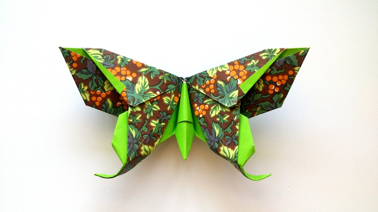 How to make an Origami Butterfly (Michael G. LaFosse ... - photo#11