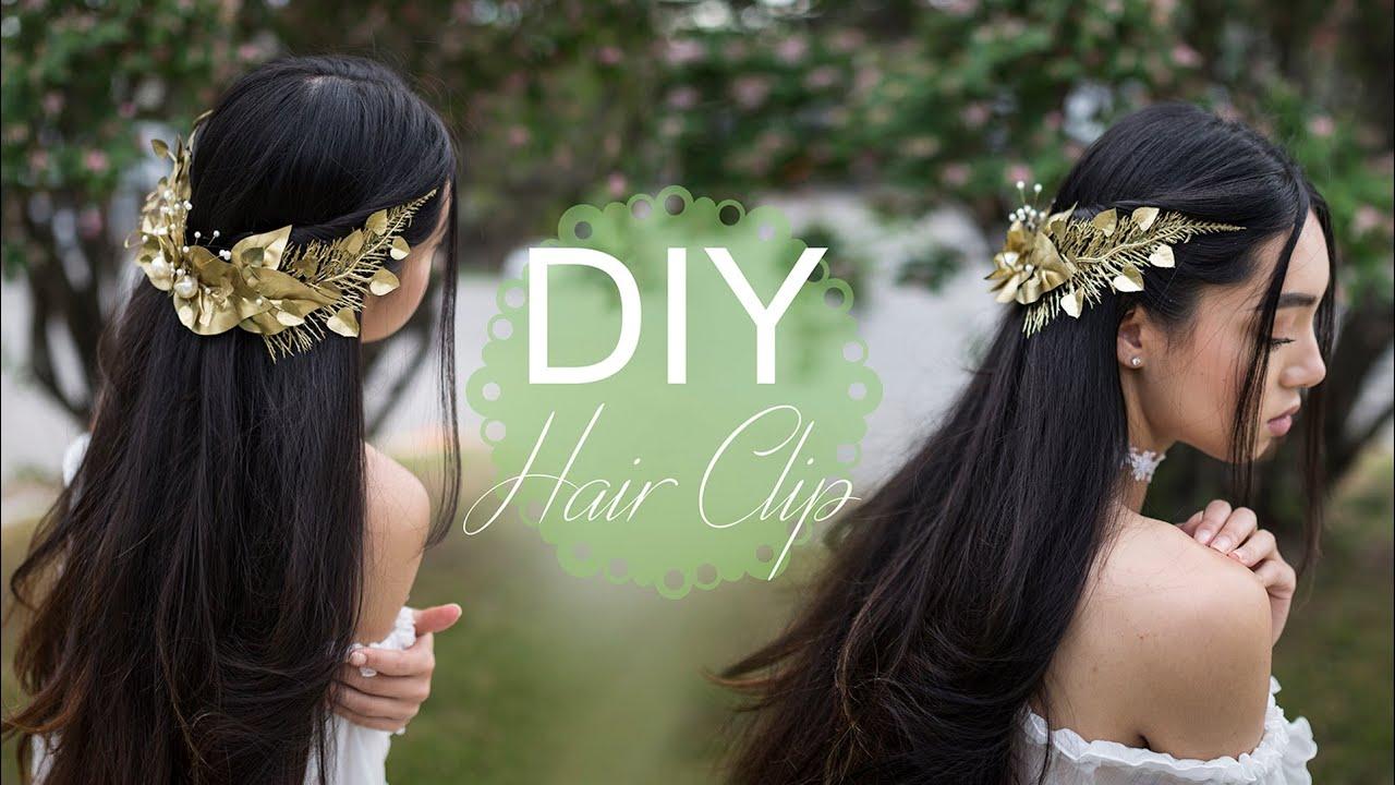 DIY Greek Goddess Hair Clip