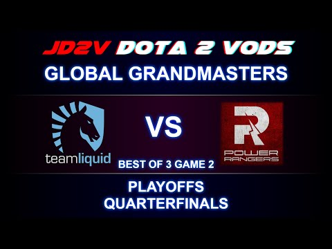 Liquid vs PR Global Grand Masters Playoffs, Quaterfinals Game 2 VOD DOTA 2