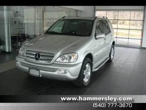 2005 Mercedes-Benz ML350 Special Edition