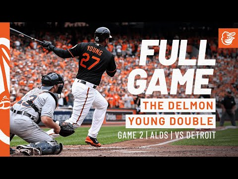 Game #2: 2014 ALDS Game 2 - Tigers at Orioles
