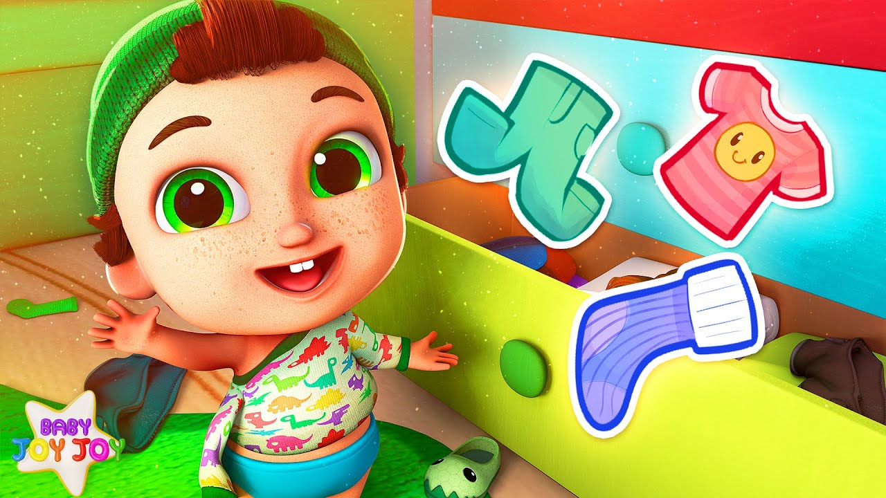 The Getting Ready Song | All By Myself REMIX | Songs for Kids | Baby Joy Joy