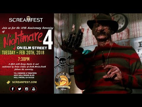 30th Anniversary Screening of A Nightmare on Elm Street 4 Q&A