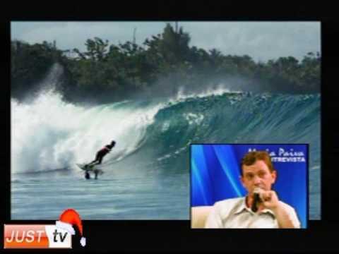 Expedição de Surf na Indonésia no Programa Maria Paiva Entrevista - JustTV - 01/12/09