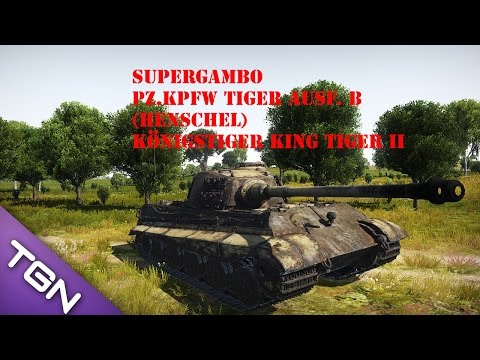 War Thunder Ground Forces Tiger 2 ManyMilesAway the Hacker Cheater :)