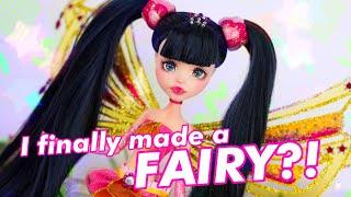 How did I NOT make a fairy yet? MUSA ENCHANTIX Art Custom Doll