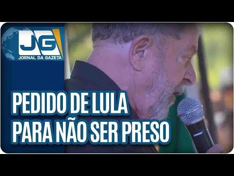 STF julgará pedido de Lula para não ser preso