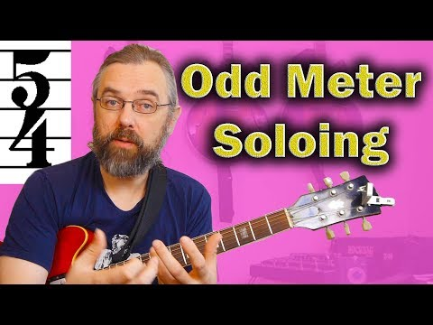 Odd Meter Soloing: Getting started with 5/4 - Jazz Blues in F