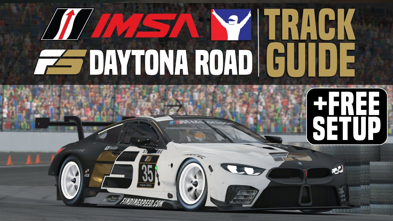 iRacing Daytona Track Guide + free setup