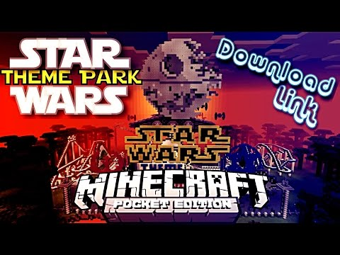 ✔️MCPE STAR WARS THEME PARK MAP {DOWNLOAD LINK} || Star Wars Theme Park