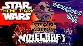 ✔️MCPE STAR WARS THEME PARK MAP {DOWNLOAD LINK} || Star Wars Theme Park