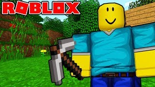 PLAY MINECRAFT IN ROBLOX