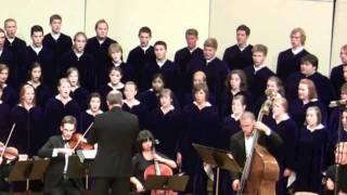 The Concordia Choir - Our Father -The Mission - Morricone- arr  René Clausen