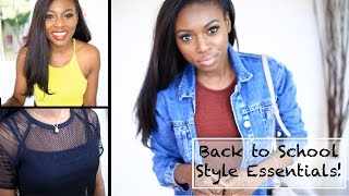 BACK TO SCHOOL/ COLLEGE STYLE INSPIRATION & ESSENTIALS Thumbnail