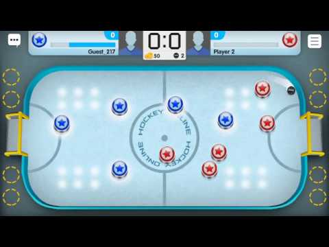 Hockey Online (by Free Mini Games) - sport game for android - gameplay.