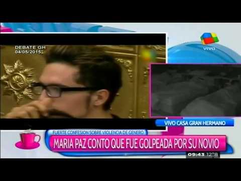 María Paz contó que fue golpeada y lloró