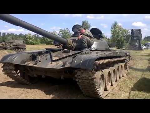 Czołg T-72, praca